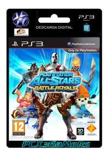 Ps3 Playstation Allstars Battle Royale Pcx3ga...