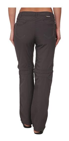 Pantalón De Mujer De Senderismo Y Montaña De Calor