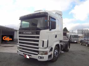 Scania R 124 Ga 4x2 Nz 400 Branca 2005