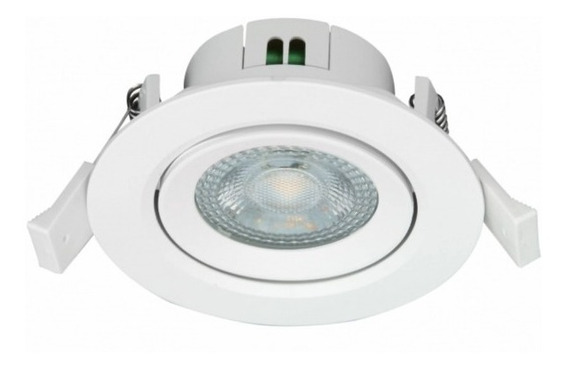 15 Spot Led Direcionável Redondo 4w 6500k Ou 3000k G-light