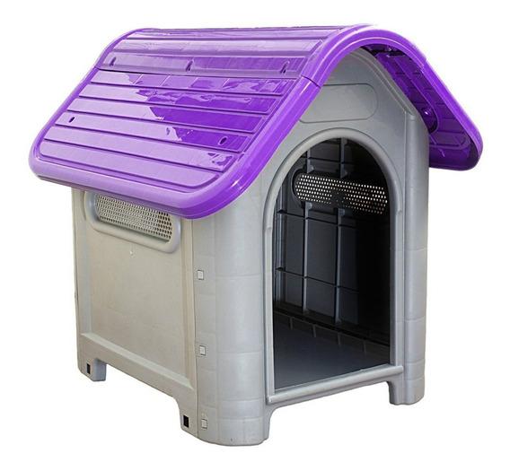 Casa Cachorro Cães Casinha P/ Pet Plástico Nº3 Varias Cores