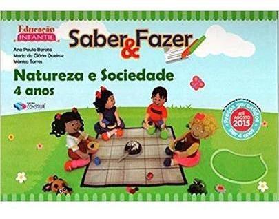 Saber E Fazer - Natureza E Sociedade - 4 Anos