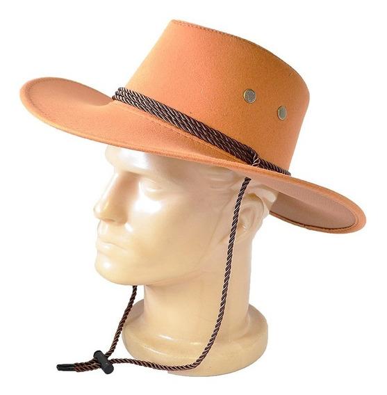 Chapéu Country Camurça Premium Glx - Kit Com 30 Peças