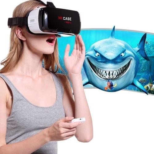 Audifono Vr Case Rk Lente Realidad Virtual 3d Cr