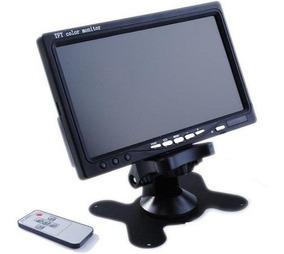 Tela Tv Monitor Video Porteiro Cftv Lcd De 7 Polegadas