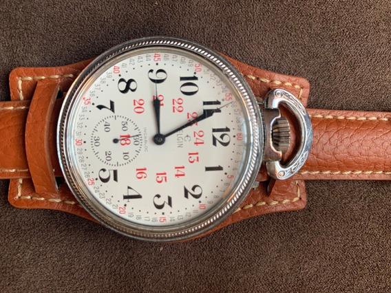 Reloj De Bolsillo O Pulsera Elgin Ferrocarrilero