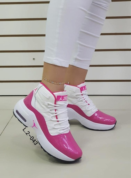 Zapatos Botas Botines Deportivos Jordan Para Damas