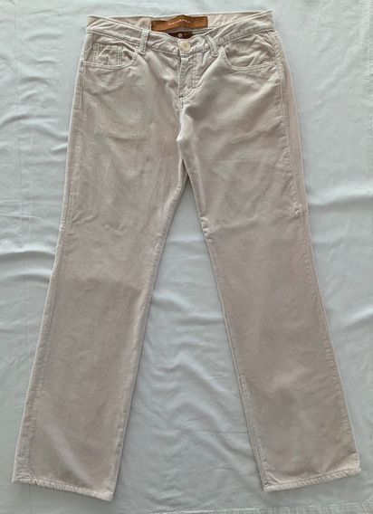 Akiabara. Pantalon Beige Clarito. Talle 2 (con Detalle)