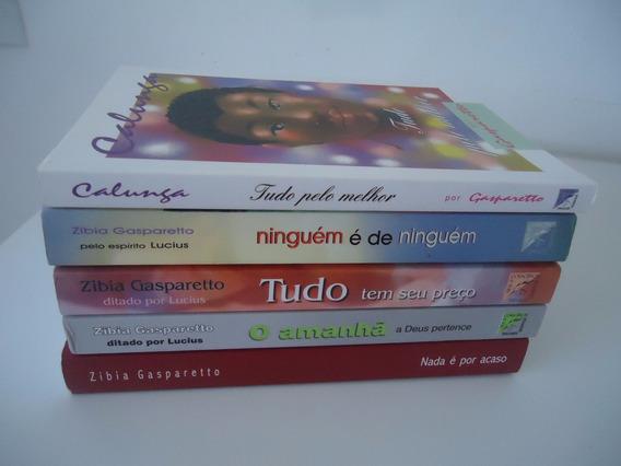 Zibia E Luiz Gasparetto - Preço Por Livro
