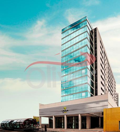 Imagem 1 de 6 de Empreendimento Vega To Work, Sala Comercial, Agua Verde, Curitiba, Parana - Sa00025 - 33104396