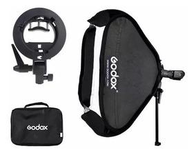 Softbox P/ Flash Speedlight 60x60 Godox (canon/nikon/sony)