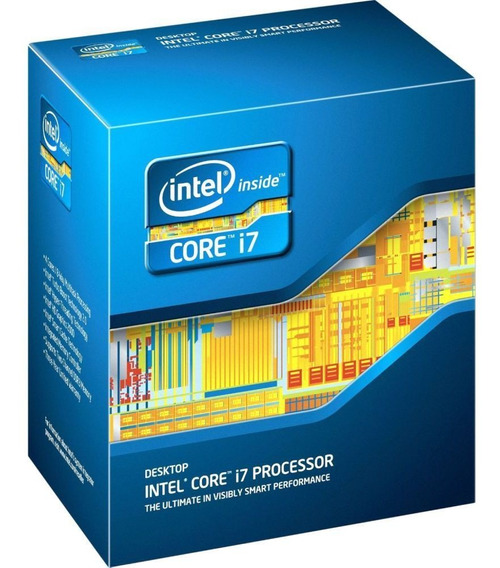 Processador Core I7 4820k 3.7ghz (3.9ghz Máx) Lga 2011 Intel