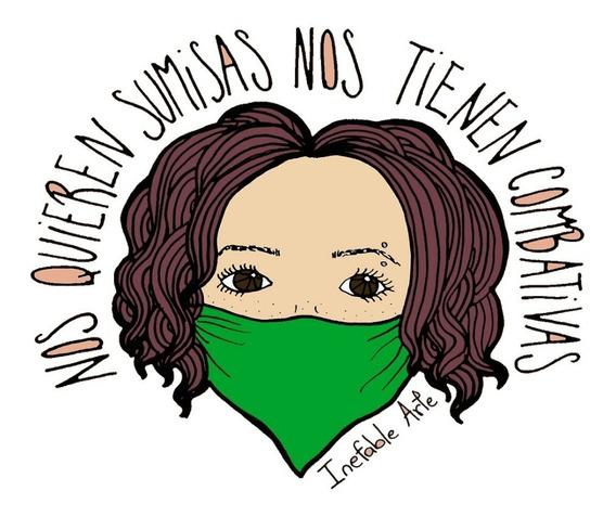 Remeras Lucha Feministas Ley Aborto Legal