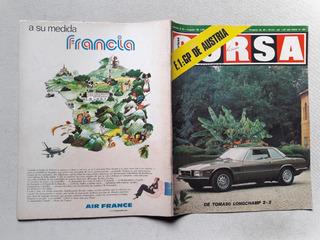 Revista Corsa Nº 482 Agosto 1975 - De Tomaso Longchamp 2+2