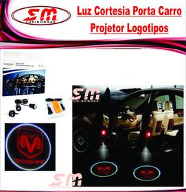 Luz De Cortesia Projetor Porta Logomarca Dodge