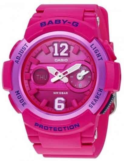 Relógio Baby-g Original Bga-210-4b2dr Nfe Garantia Nacional