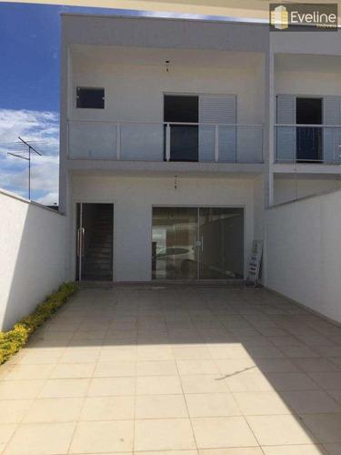 Casa Com 3 Dorms, Vila Suissa, Mogi Das Cruzes - R$ 550.000,00, 175m² - Codigo: 511 - V511