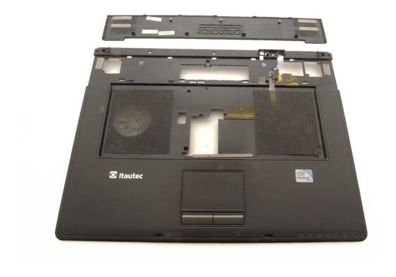 Itautec W7650 W7655 Base Superior Com Par Alto Falante Compativel Novo