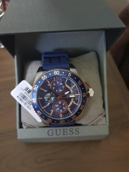 Relógio Guess Original Com Certificado Modelo W0798g2