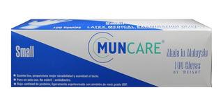Guante Latex Muncare Talla S Caja X 100 Unidades.