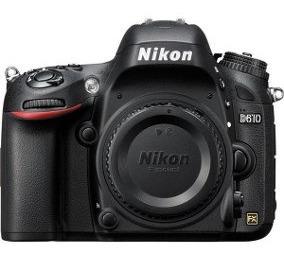Câmera Nikon Dslr D610 - Somente O Corpo - Usada