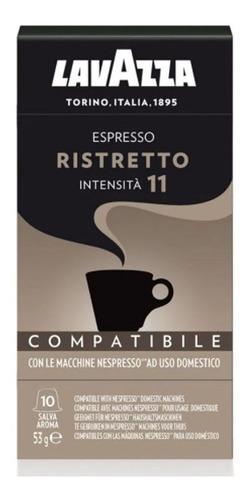 Imagem 1 de 4 de Café Em Cápsulas Expresso Lavazza Ristretto 10 Und