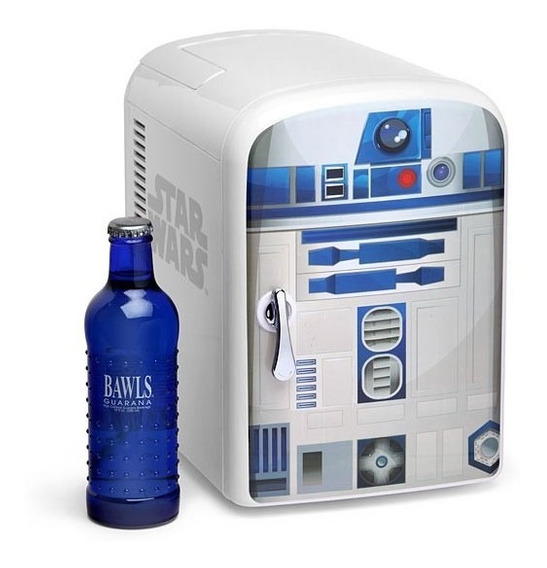 Star Wars R2-d2 Mini Refri Nuevo Importado