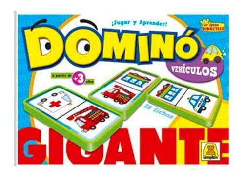 Domino Gigante Vehiculos 74 Envio Full