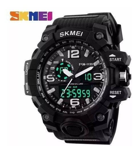 Relógio Masculino Skmei S-shock Modelo 1155 A Prova D