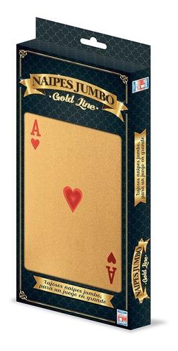Imagen 1 de 3 de Juego De Cartas Gold Mega Cartas 1192
