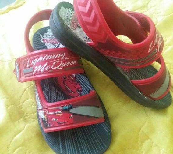 Tenis+sandalia Relampago Mcqueen