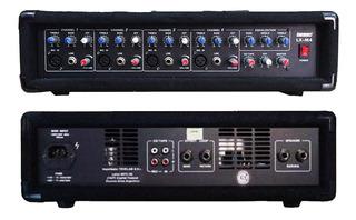 Cabezal Amplificado Lexsen Lx-m4 5 Canales Con Efecto Pr