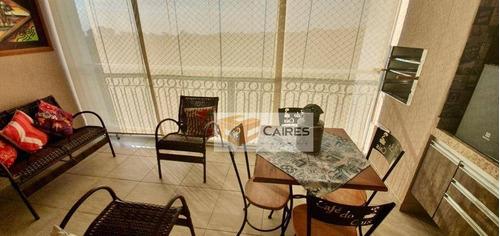 Imagem 1 de 30 de Apartamento Com 3 Dormitórios À Venda, 107 M² Por R$ 619.000,00 - Jardim São Vicente - Campinas/sp - Ap7756