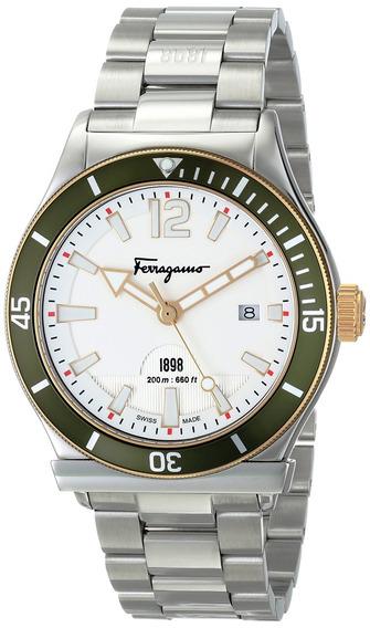 Reloj Deportivo De Acero Inoxidable Ff3150014 Ferragamo 1