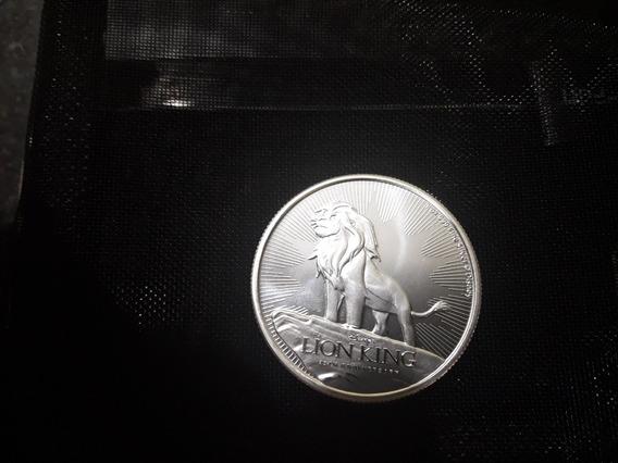 Moneda Coleccionable De El Rey Leon Edicion Limitada