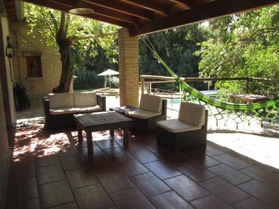 Casa Sierras Cordoba Pileta Rio Parque 3200m2 -11a13 Pers