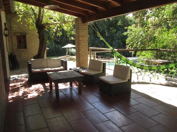Casa Sierras Cordoba Pileta Rio 3200m2 -11/13 Personas