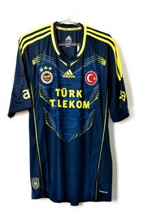 Camisa De Futebol Masculino Fenerbahce adidas 2013/14 Third