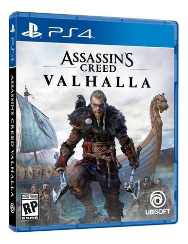 Imagen 1 de 3 de Assassin's Creed Valhalla Standard Edition Ubisoft PS4 Físico
