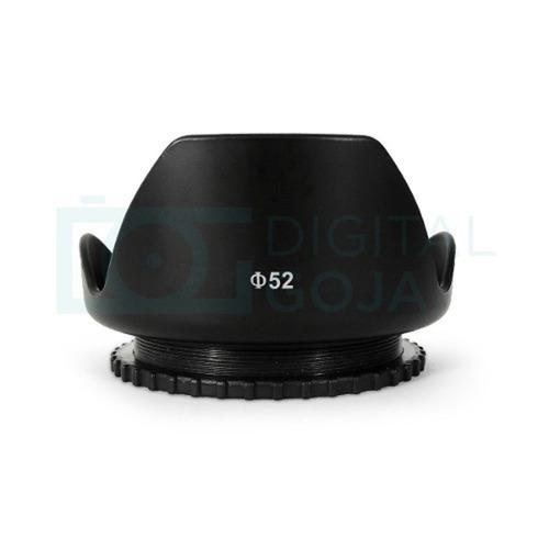 Parasol Petalo 52mm Para Nikon D3200 D5200 D5300 18-55