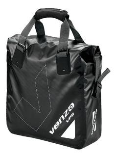 Alforja Venzo 500d Vz-f21-028 Para Parrilla De Bicicleta