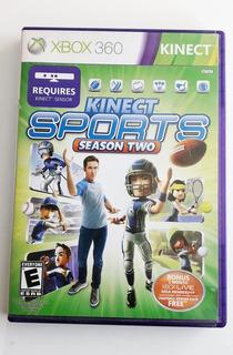 Juego Xbox 360 Kinect Sports Season 2 - C W