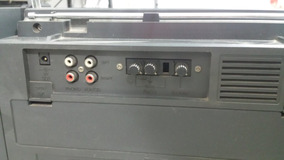 Radio Gravador Gradiente Cs-5 Partner Com Toca Discos