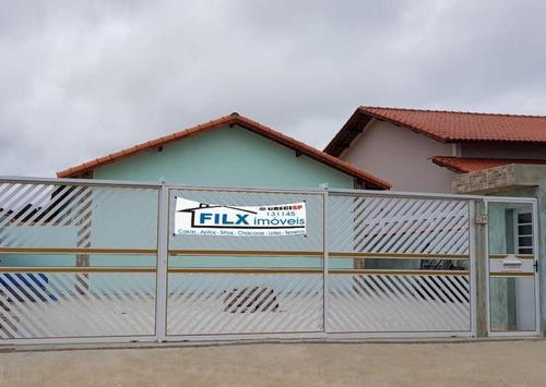 Excelente Casas No Cibratel 2 Em Itanhaém Sp - 5364   Npc