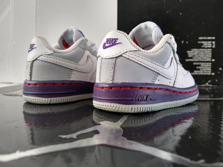 Nike Air Forcé 1 Low (10cm) Retro Jordan Lakers Barkley Zoom