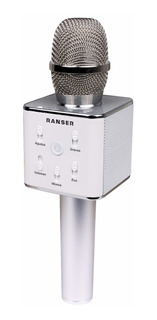 Microfono Parlante Bluetooth Karaoke Ranser Mc-ra70
