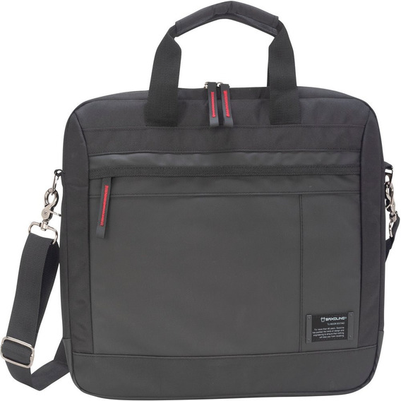 Maletín Equity Briefcase 805 Black 15,4 Pulgadas Saxoline