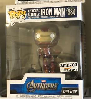 Iron Man # 584 Funko Pop! Amazon Exclusive Avengers Assembe