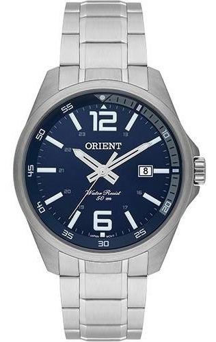 Relógio Masculino Orient Analógico Prata Mbss1275 D2sx