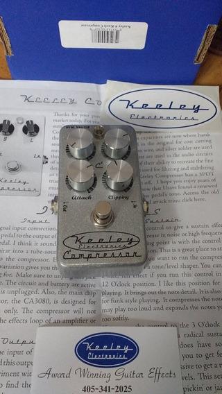 Keeley C4 Compresor, Excelente Estado, Con Caja Y Manual.